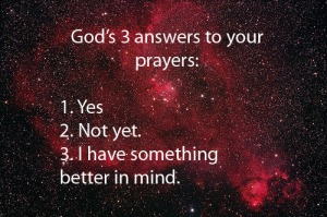 answers to your prayers