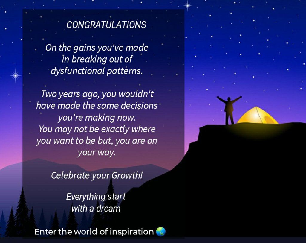 Celebrate every success ~ It helps you to stay motivated and allows you to enjoy the journey.